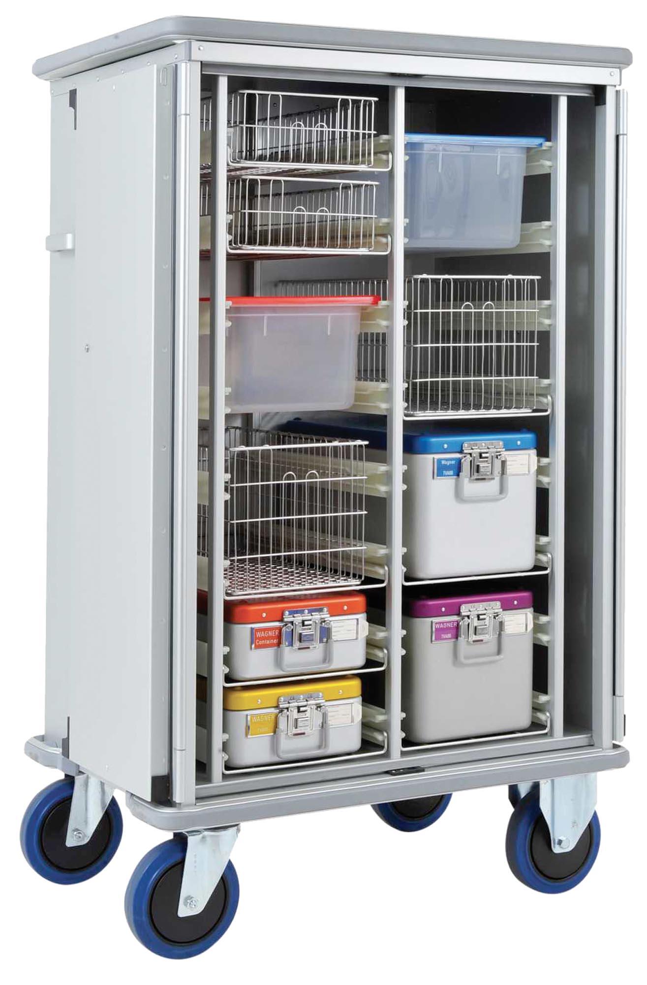 Aluminium / RVS transportkarren / Kar-in-Kar Systemen